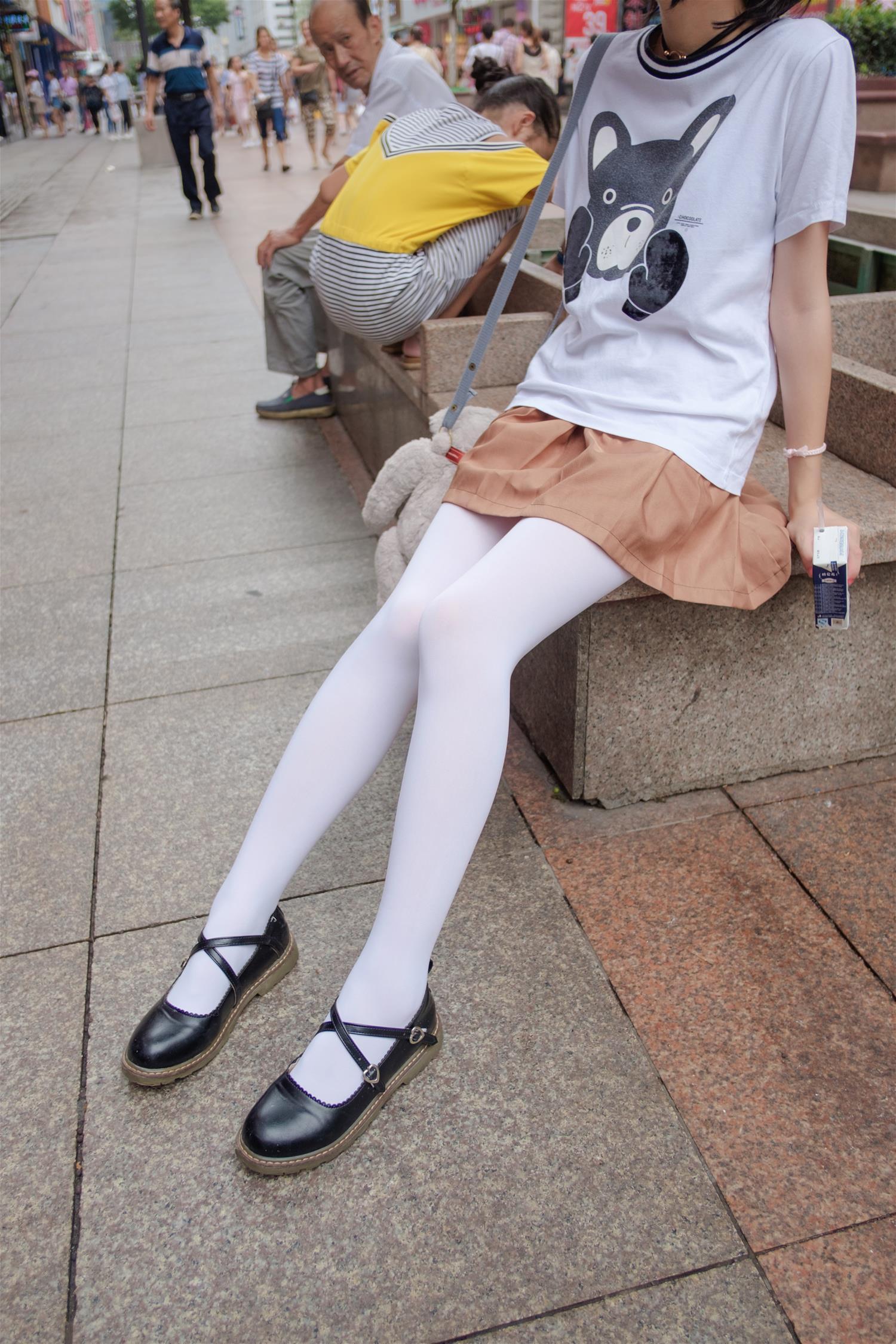 森萝财团 BETA-004 高中女生JK白丝外拍(113P)