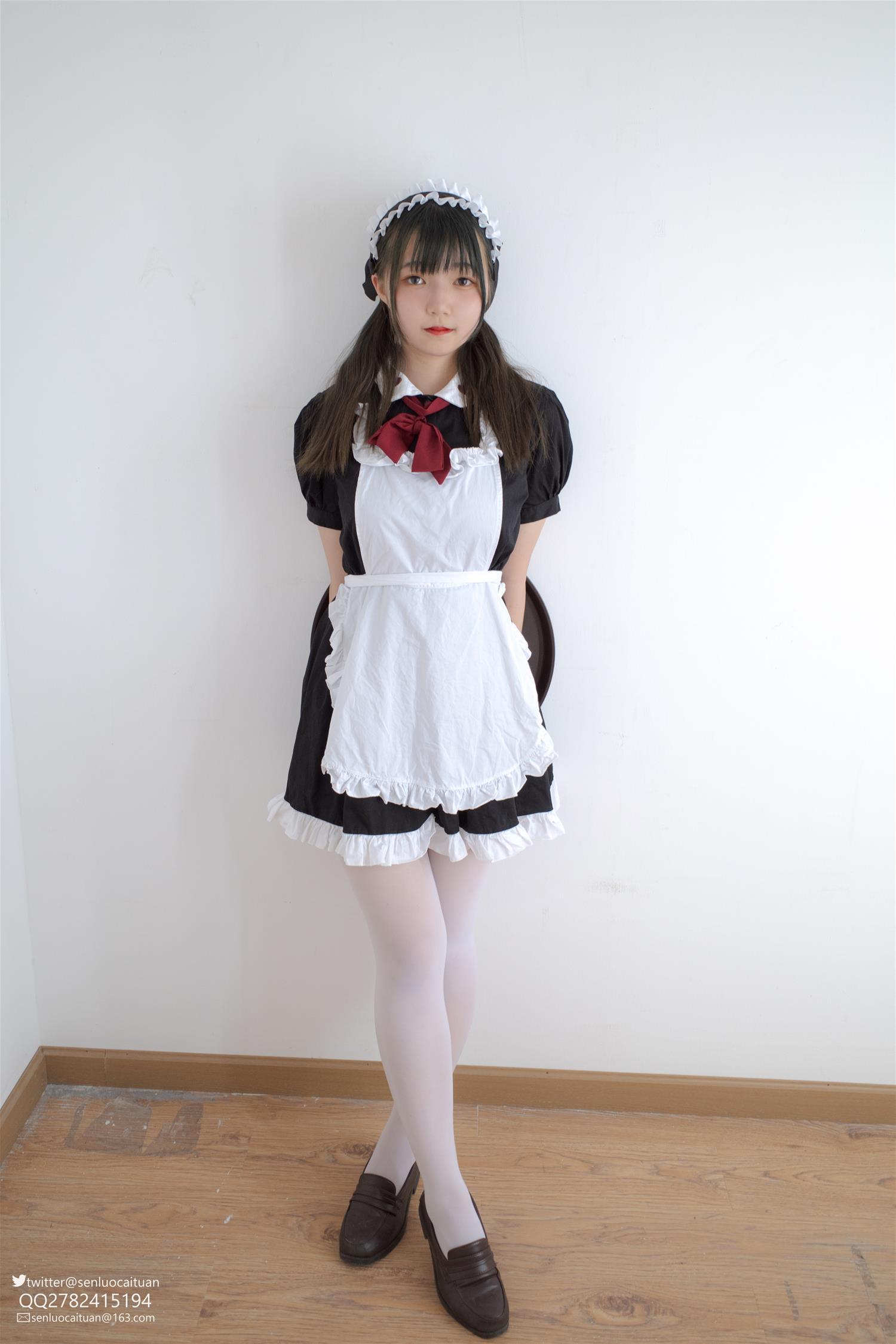 森萝财团 GG-002 离洛 黑白女仆(102P)
