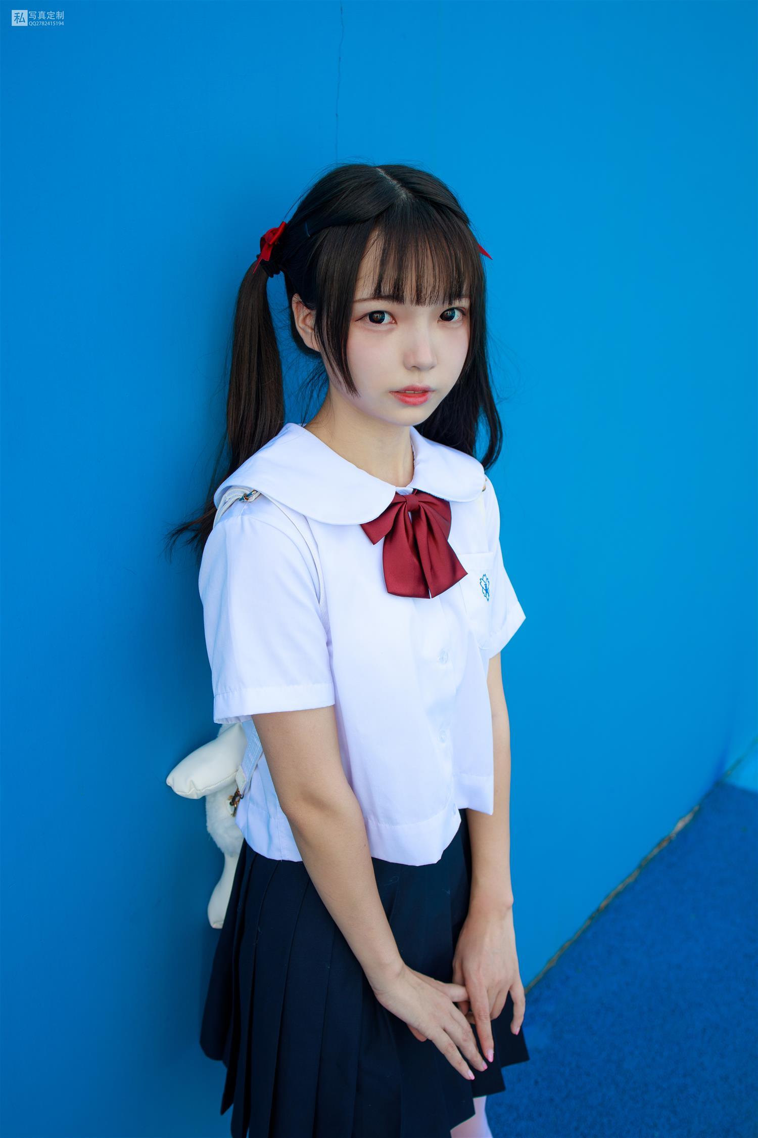 森萝财团 JKFUN-026 默陌 15D白丝 雪糕游乐园(75P)