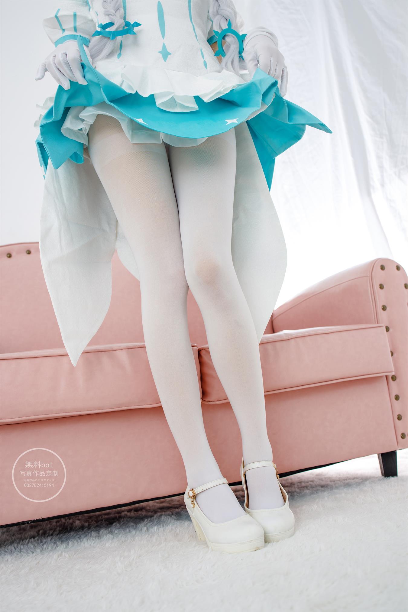 森萝财团 有料-010 小奶糕 白丝50D [74P]