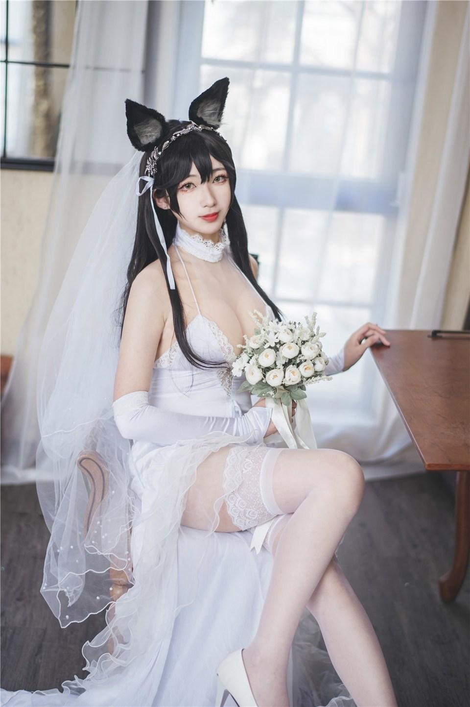 少女写真@碧蓝-爱宕婚纱 [40P]