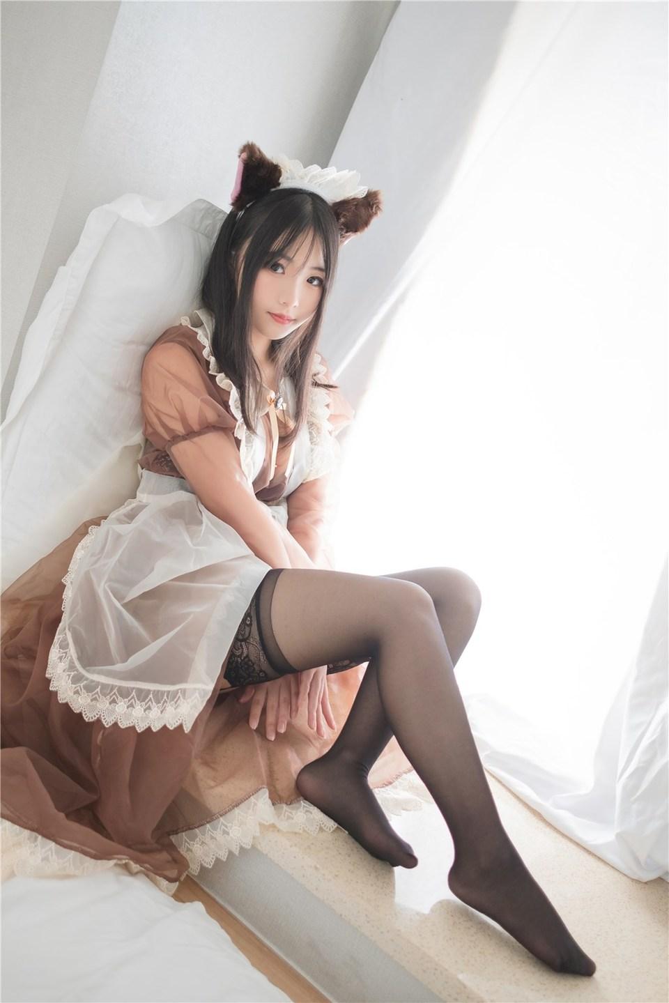 少女写真@透明女仆装 [43P]