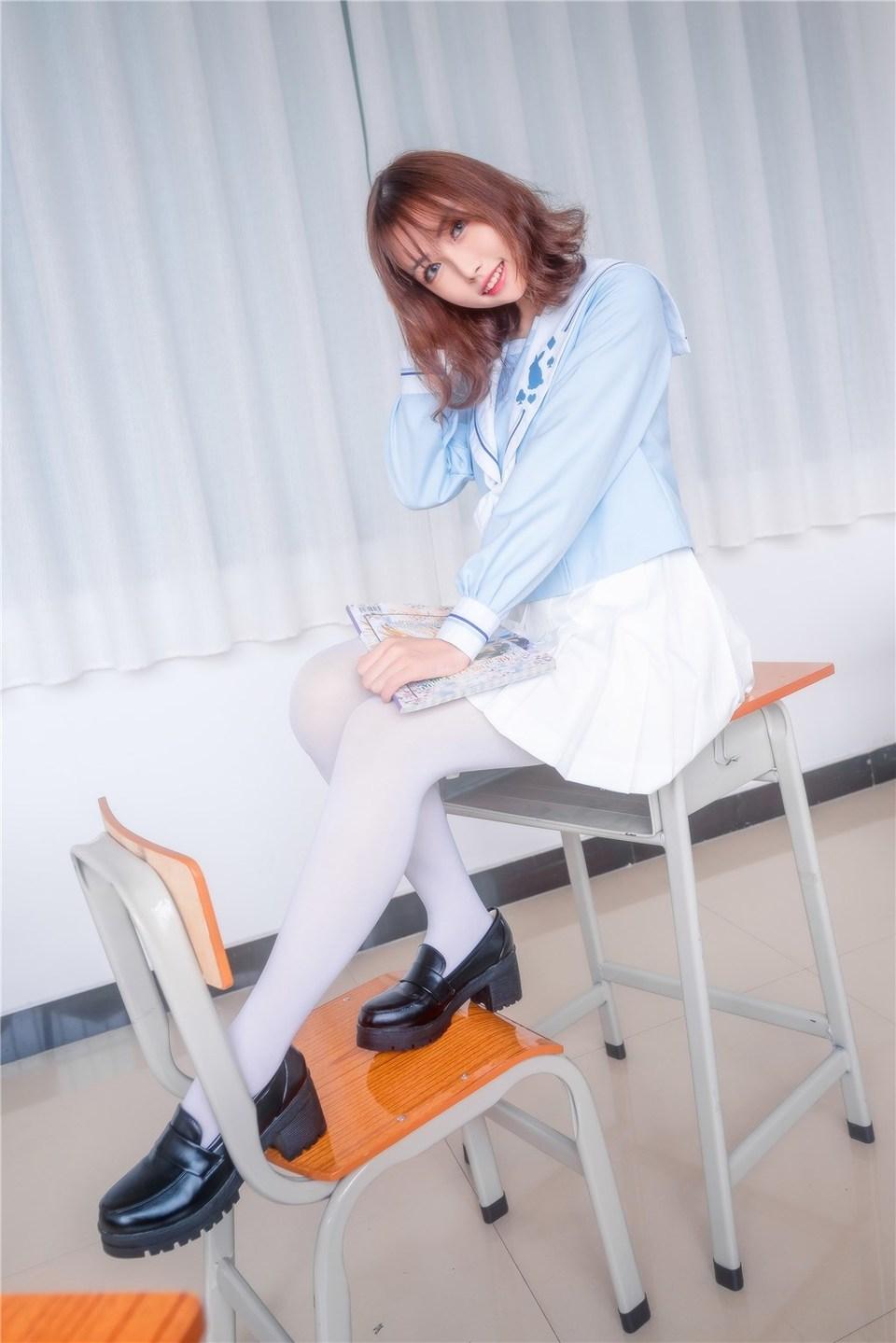 少女写真@元气学姐 [43P]